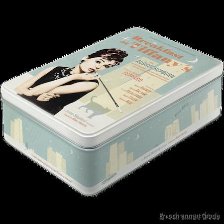 Breakfast at Tiffany's - METALLBURK - Audrey Hepburn 2,5liter