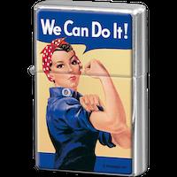 We Can Do It! TÄNDARE Feminist (bensin)
