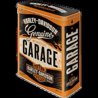 Rea! Harley-Davidson GARAGE BURK 4 liter