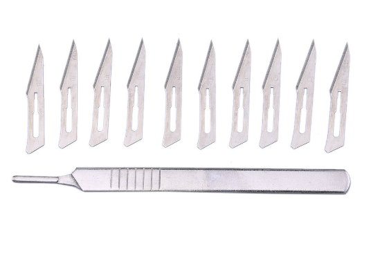 Skalpell KNIV inkl 10st blad