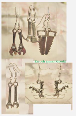 Örhängen verktyg/sekatör