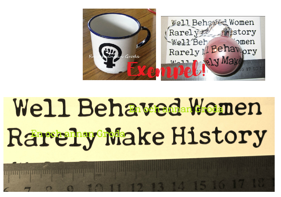 well behaved woman rearly make history DEKAL - (FEMINIST)