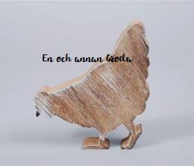 Höns i trä PÅSK