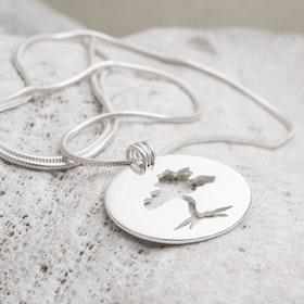 MADE BY LEENA - Trädet, halssmycke i silver