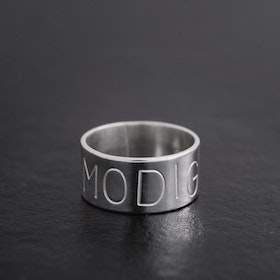 MADE BY LEENA - MODIG, bred silverring