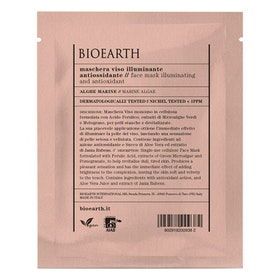 Bioearth Face Mask Illuminating and Antioxidant