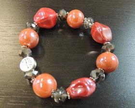 Våga Armband Orange/Rosa