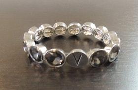 Våga Armband Silver/Grå