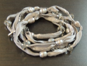 Våga Halsband/Armband Naturvitt