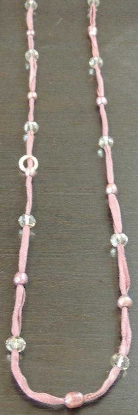 Våga Halsband/Armband Rosa