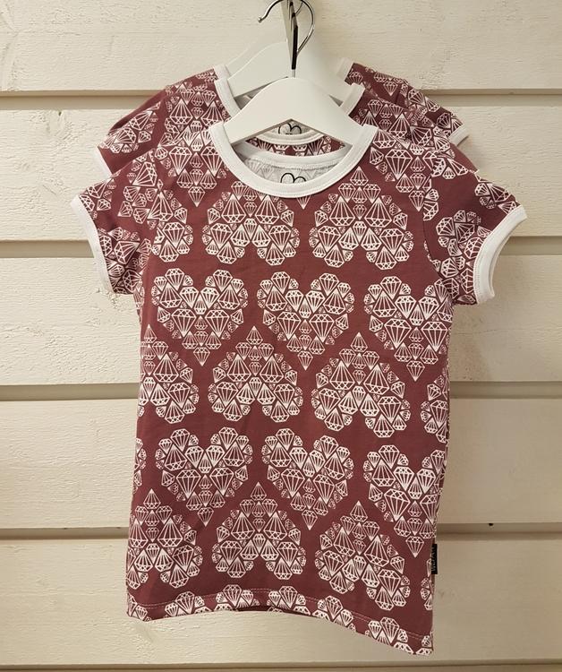 T-shirt med kort ärm
