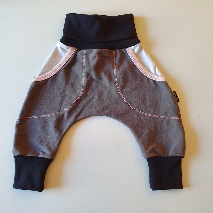 Baggypants med fickor