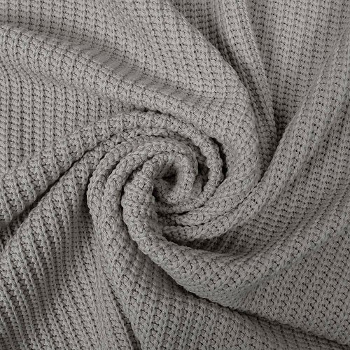 Big knit, grå