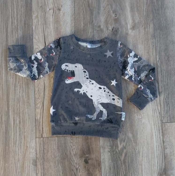 Muddtröja - Dinosaurie