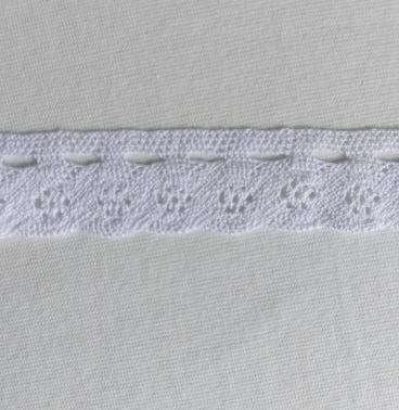 Bomullsspets - 3 cm