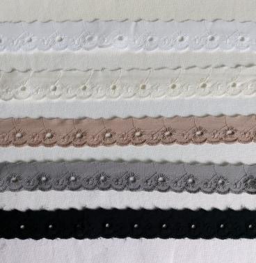 Brodyrspets - 2,5 cm