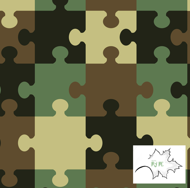 Camouflage Puzzle - COLLEGE