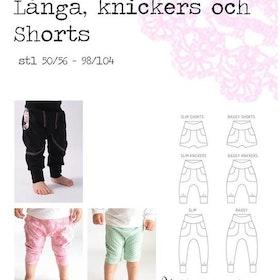 Baggypants - Byxor, Knickers, Shorts stl 50/56 - 98/104