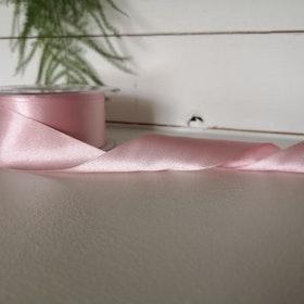 Satinband - Ljusrosa 35 mm