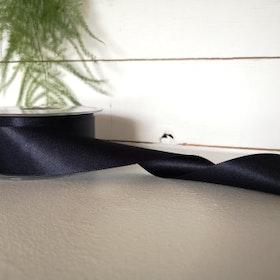 Satinband - Marinblå 35 mm