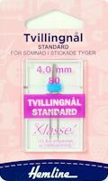 Tvillingnål - Universal, 4 mm, 1 st