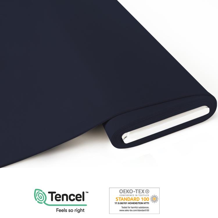 TENCEL™ - Jersey Midnattsblå