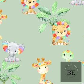 Rainbow Animals Mint