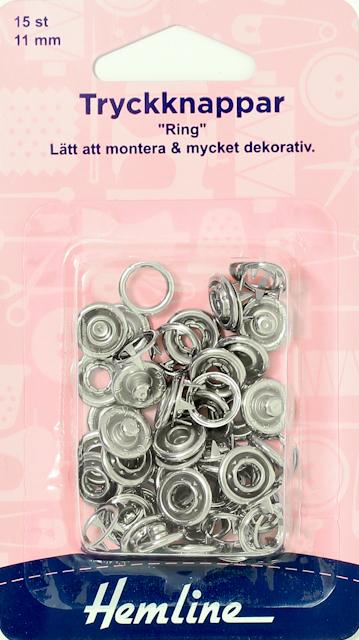 Tryckknappar 15-Pack