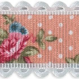 Dekorationsband - Rosa