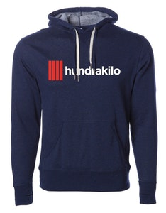Unisex Pullover Hoodie French Terry | Navy