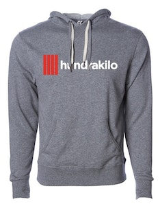Unisex Pullover Hoodie French Terry | Grey