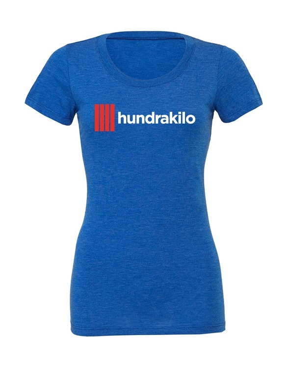 "Women's TriBlend T-Shirt ""Hundrakilo"" 