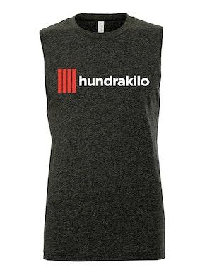 "Unisex Muscle Tank ""Hundrakilo"" | Dark Grey"
