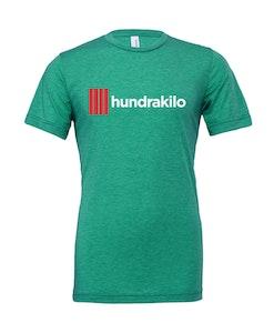 "Unisex TriBlend T-Shirt ""Hundrakilo"" | Grass Green"