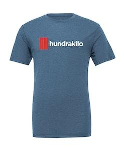 "Unisex TriBlend T-Shirt ""Hundrakilo"" | Steel Blue"