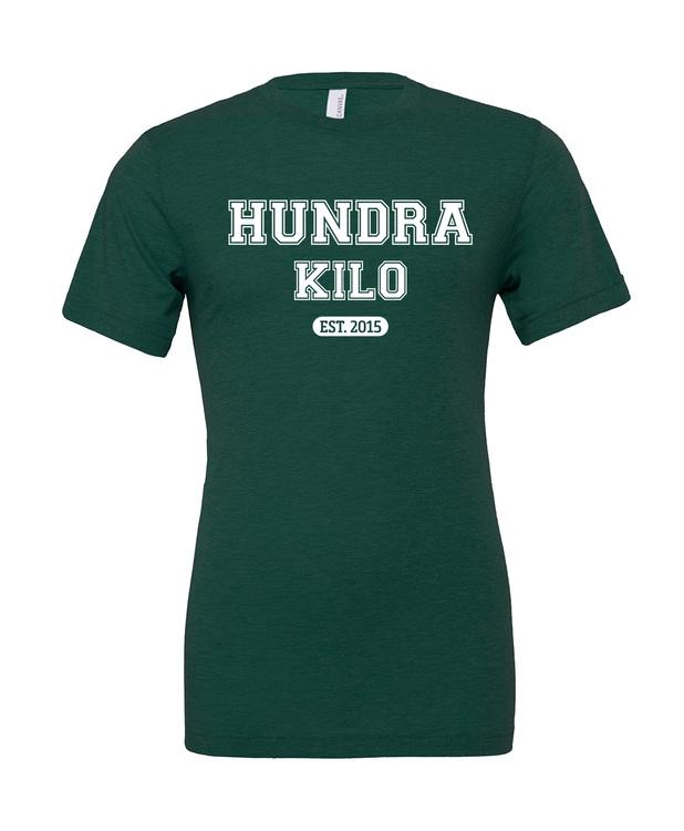 "Unisex TriBlend T-Shirt ""College"" | Emerald"