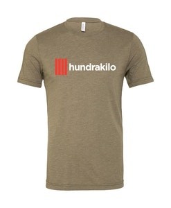 "Unisex TriBlend T-Shirt ""Hundrakilo"" | Olive"