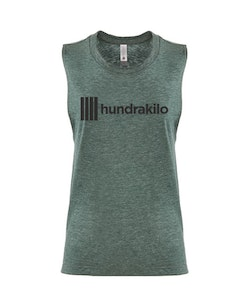 "Women's Muscle Tank ""Hundrakilo"" 