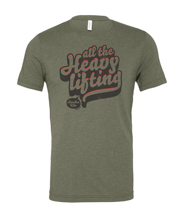 "Unisex TriBlend T-Shirt ""ATHL 2.0""   Military Green"