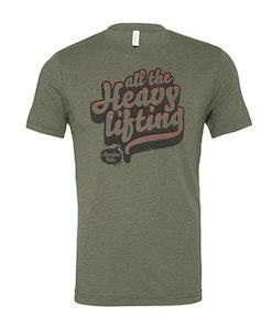 "Unisex TriBlend T-Shirt ""ATHL 2.0"" | Military Green"