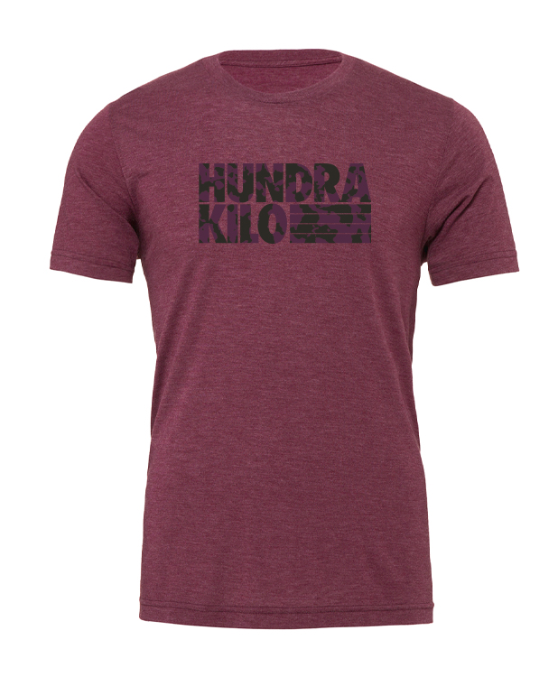 "Unisex TriBlend T-Shirt ""Camo"" | Maroon"
