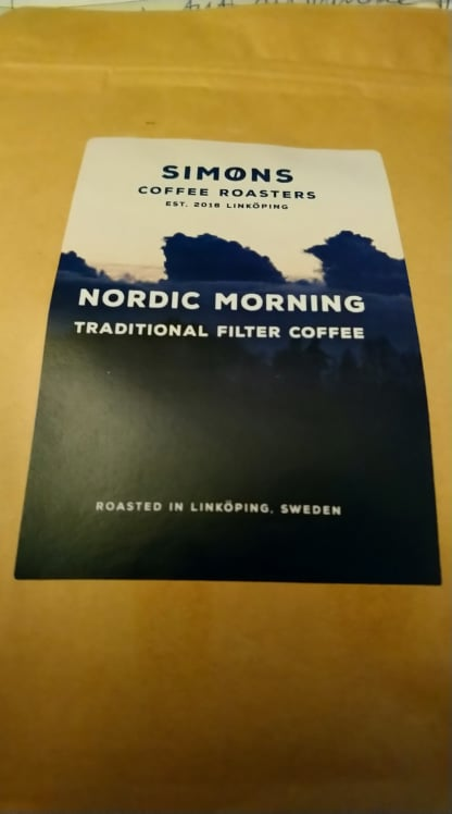 Special kaffe Nordic Morning Simon´s Rosteri