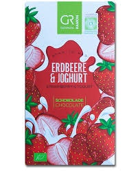 GR Vit Choklad med Jordgubbar & Yoghurt