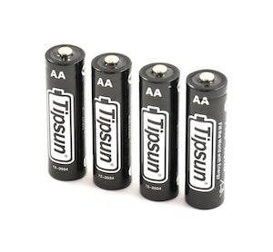 4 st AA Litiumbatteri till åtelkamera