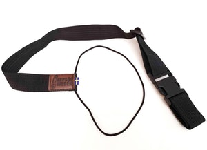 Gun strap that holds the gun in place