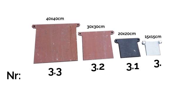 Stålmål för studsaren - 7 varianter
