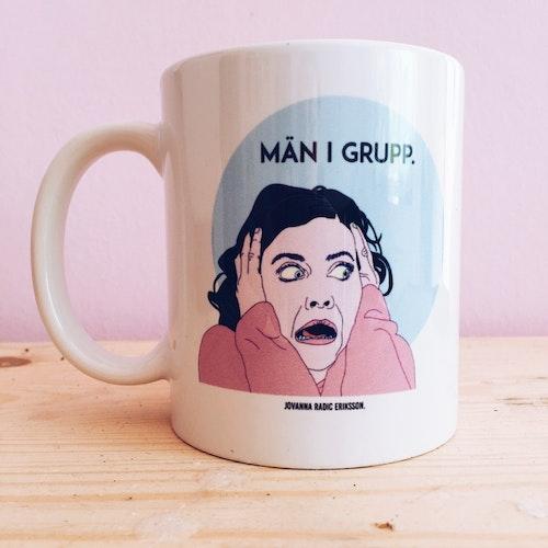 Män i Grupp Mug