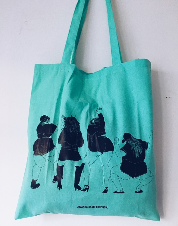 Twerk Tote Bag, mint