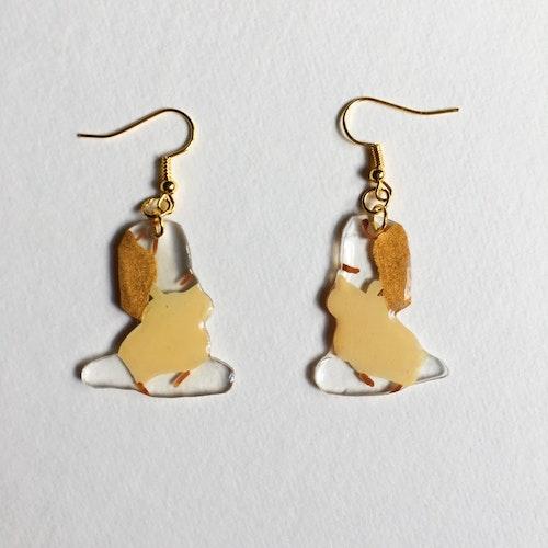 Yoga Earring, beige