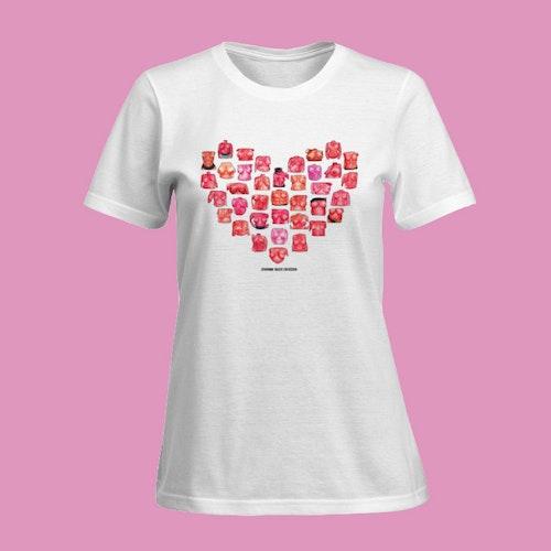 Titty Heart T-shirt (tight fit)
